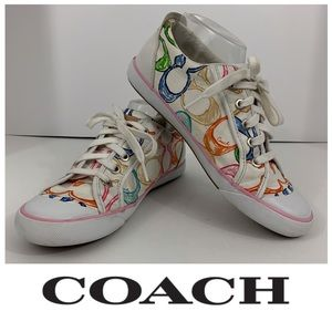"Coach ""Barret"" Multicolor Sneakers"